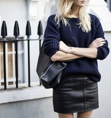 Colour combo - Navy and black