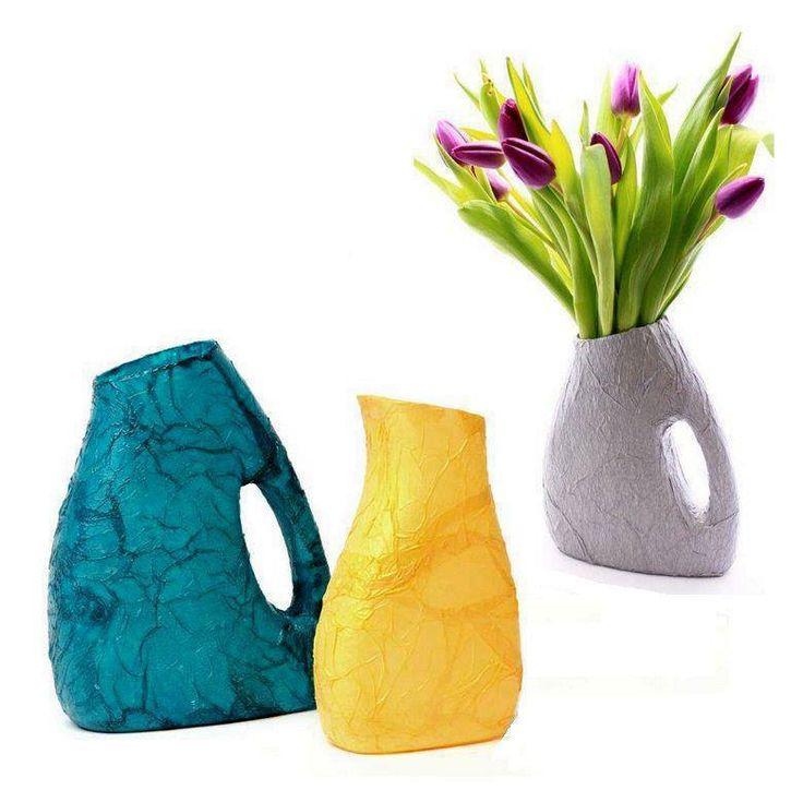 en floreros more diy ideas good ideas diy manualidades furnishing