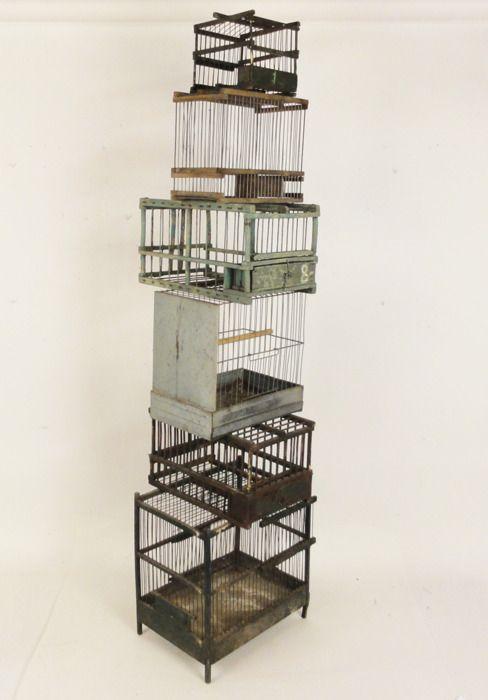 artpropelled:    Antique Bird Cages