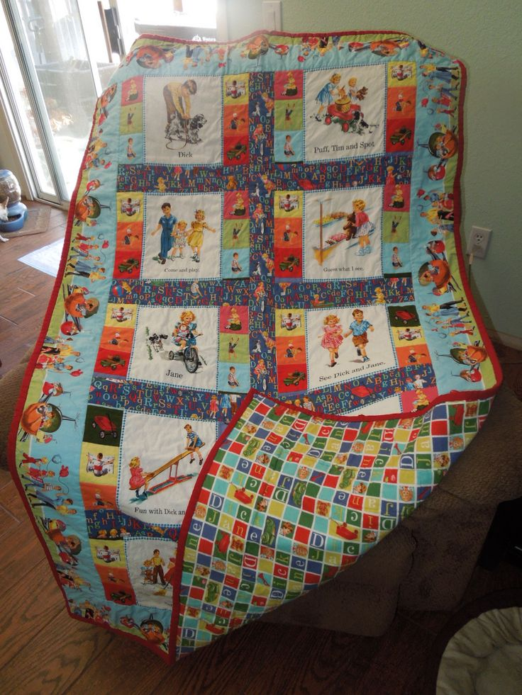 dick-and-jane-quilt-fabric