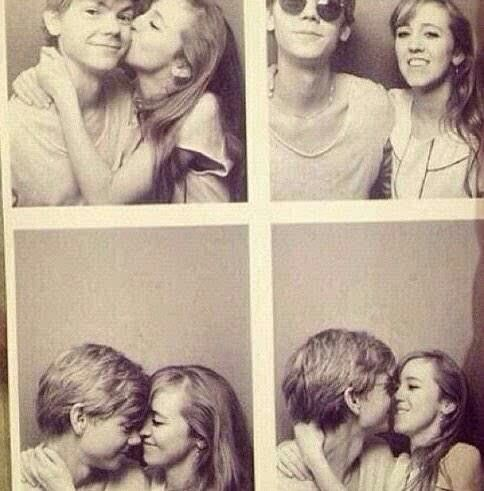 Thomas and girlfriend