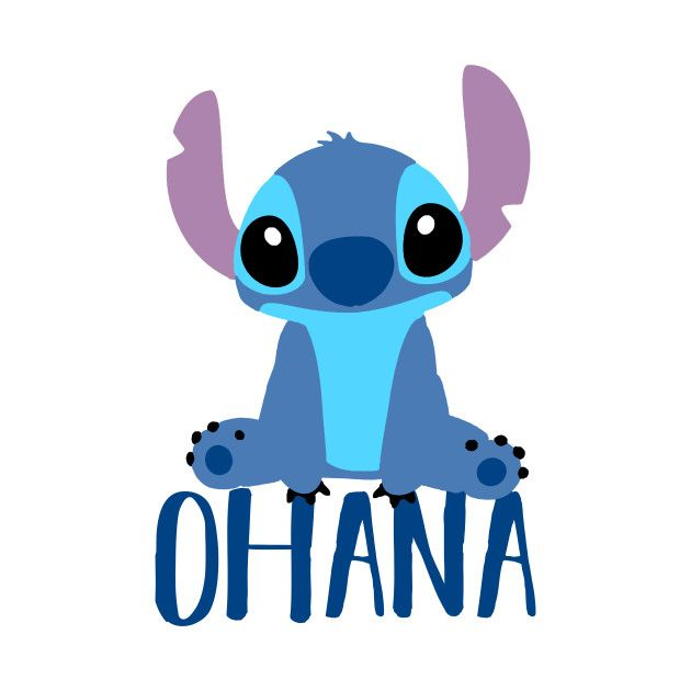 Check out this awesome 'Stitch+Ohana' design on TeePublic