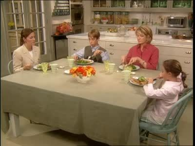 Table Manners 101 video with Martha Stewart- this is perfect for the AHG Tenderheart Social Skills  Etiquette badge!