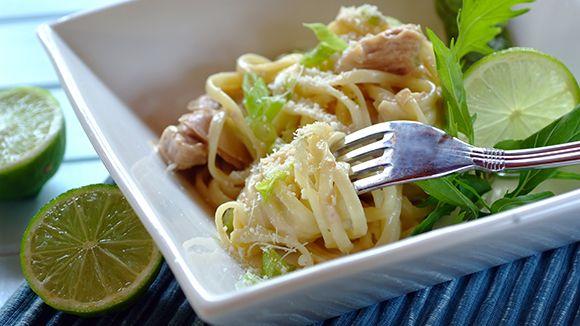 Creamy Tuna Carbonara