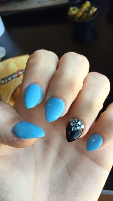 25 best ideas about short stiletto nails on pinterest
