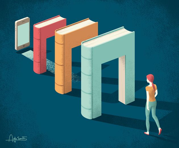 Editorial illustrations for Redbook 2 on Behance