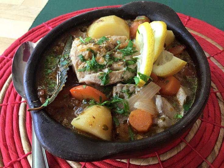Caldillo de pescado, receta chilena