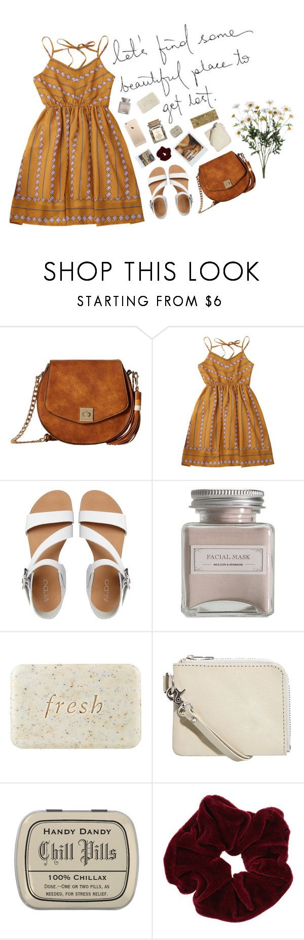 """""""CREATIVE"""" by sydnaayyy-13 ❤ liked on Polyvore featuring Gabriella Rocha, ALDO, Mullein & Sparrow, Polaroid, Fresh, Cheap Monday and Miss Selfridge"""