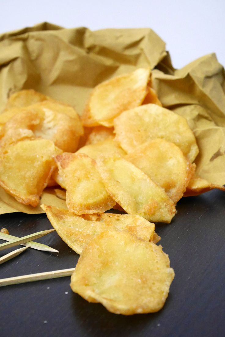 Patate fritte in pastella