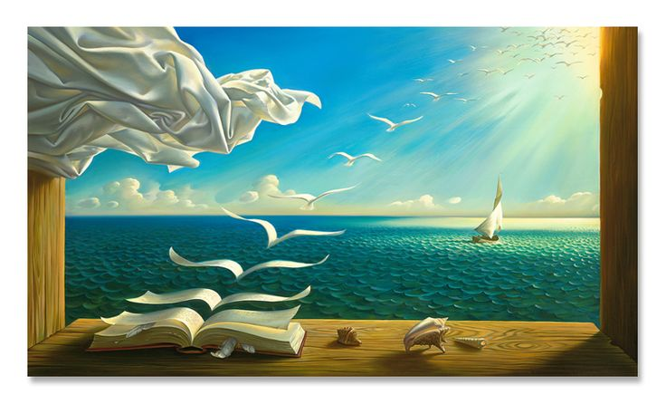 Diary of discoveries - Vladimir Kush