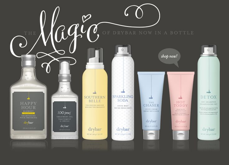 Love these drybar hair care products!