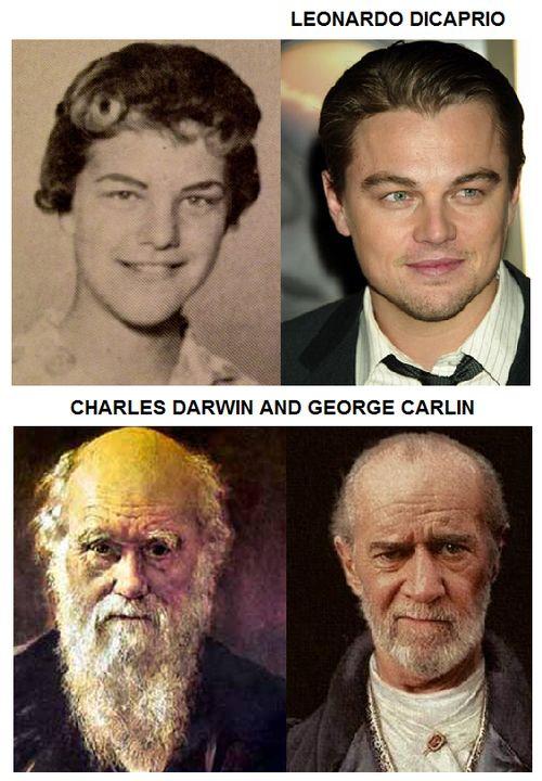 tylerslittleshit:  thegodlessatheist:  Celebrity and historic figure doppelgangers  can you not