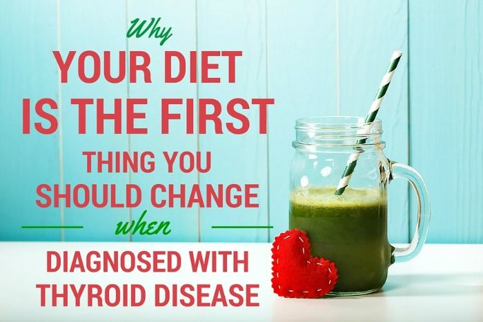 Why should you change your diet when you have thyroid disease? Because the foods you eat directly affect your endocrine system. When given the proper nutrients, our bodies can begin the healing process.