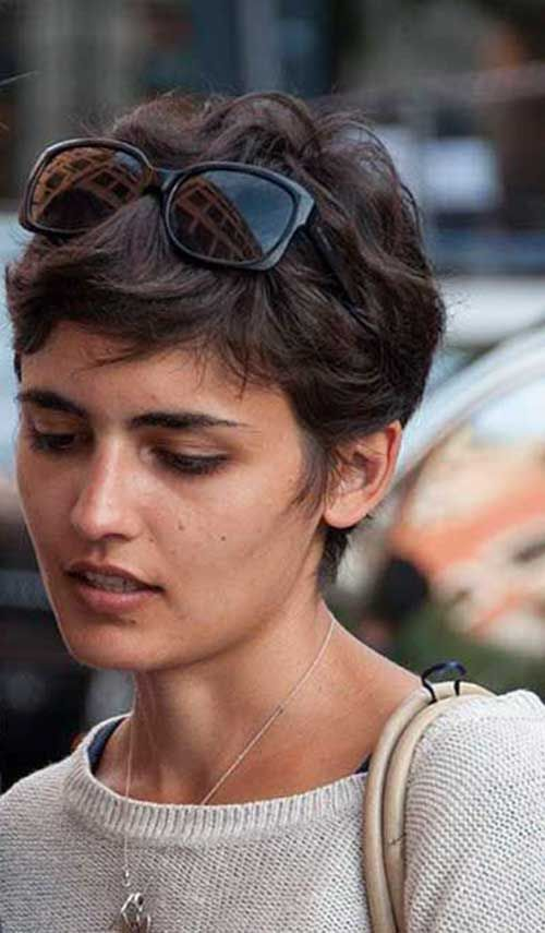 10.Messy Pixie Hairstyles