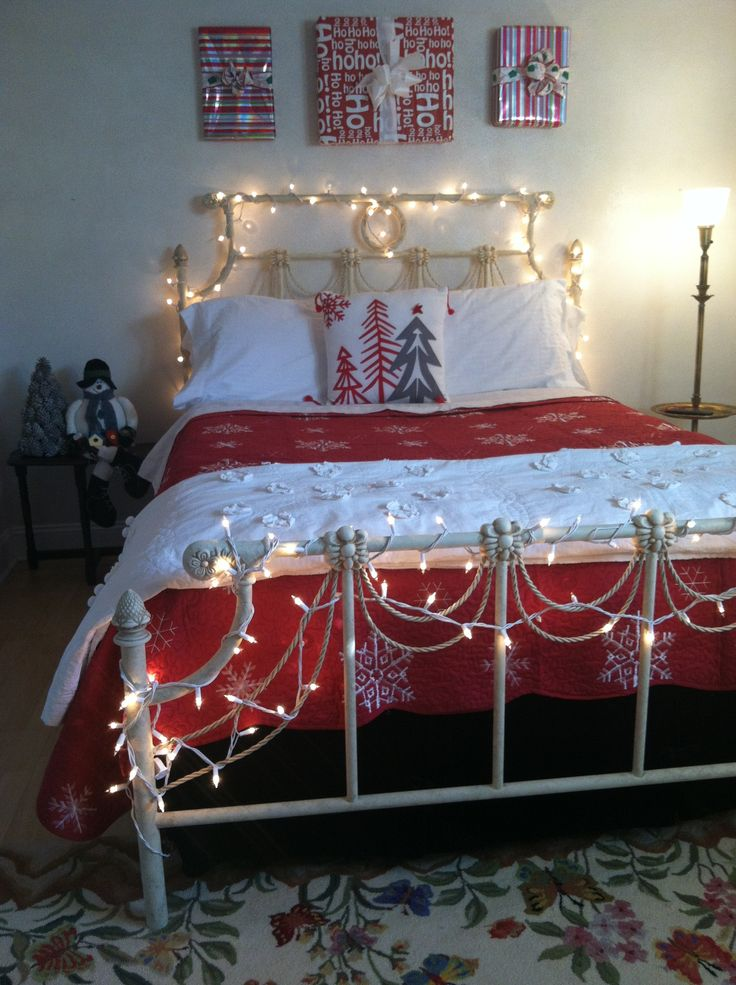 Christmas Bedrooms 522 best christmas bedrooms images on pinterest | christmas