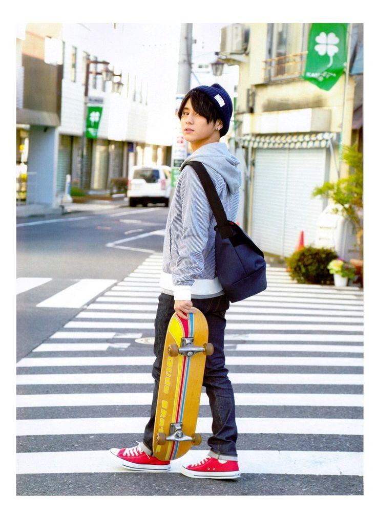 michiko-jump:   Yamada Ryosuke for OriSuta N.23 / 2015.03