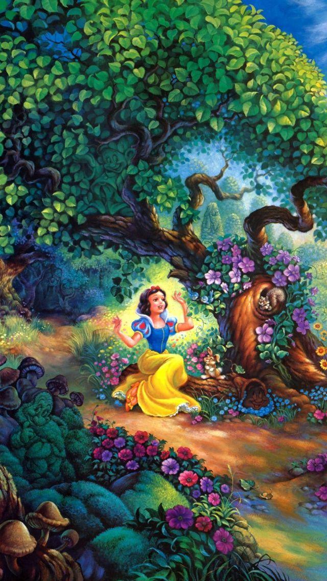 Disney Snow White iPhone 5 Wallpaper