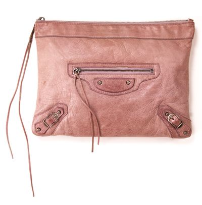 VIDA Statement Bag - April in Paris pink by VIDA