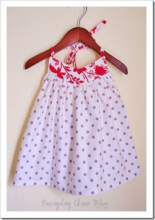 cute top tutorial - sizes 4/5 to 8/10. could be made smaller or bigger. also could be a dress. (via meg/elsie marley)