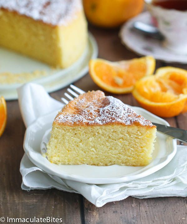 Orange Almond Butter Cake | Recipe | Butter, Almonds and ...