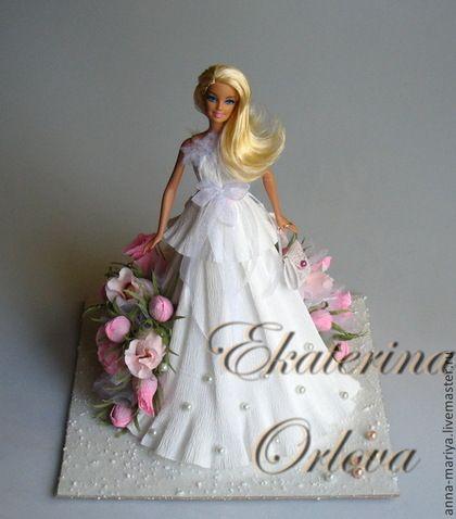 Персональные подарки ручной работы. Барби (композиция из конфет). Екатерина Орлова. Интернет-магазин Ярмарка Мастеров. Кукла, дочке, кукла