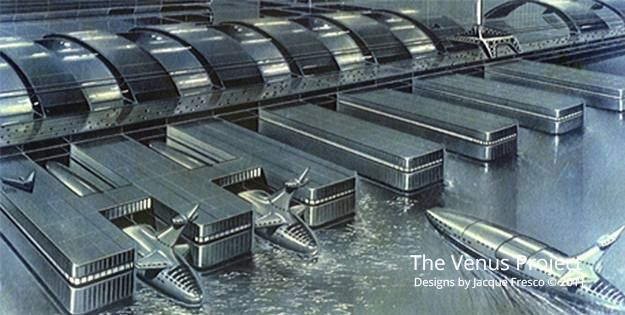 Designs by Jacque Fresco  The Venus Project Beyond Politics, Poverty and War…