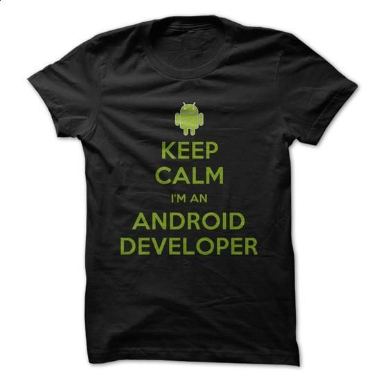 Keep Calm I am An Android Developer - #polo t shirts #t shirts online. BUY NOW => https://www.sunfrog.com/Geek-Tech/Keep-Calm-I-am-An-Android-Developer.html?60505
