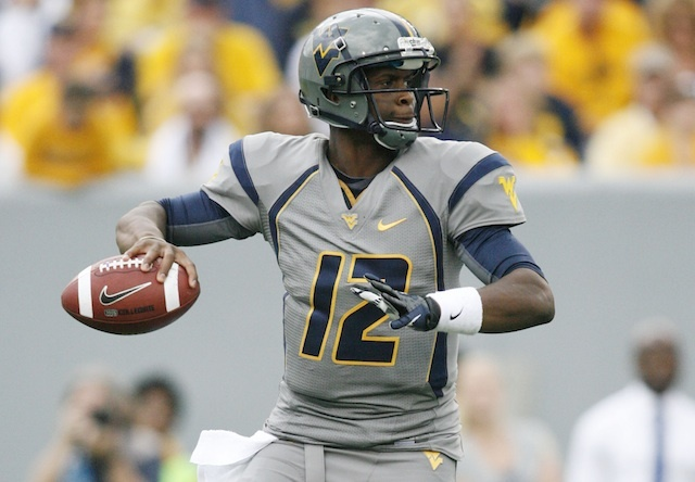 WVU QB Geno Smith is Ridiculous.