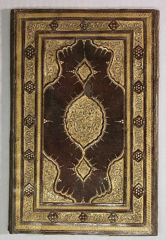 Bookbinding, 17th century, Turkey Culture: Islamic, Medium: Leather; stamped and gilded, Fletcher Fund, 1975