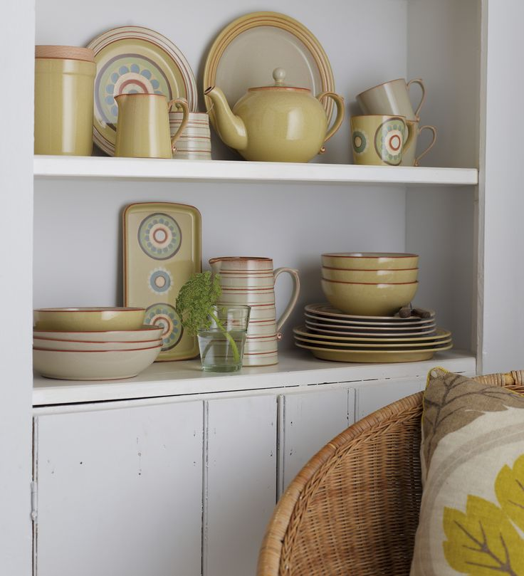 Denby, Heritage, Veranda. Denby makes all of it's beautiful Heritage range in Derbyshire, England.