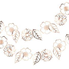 Slinger | Roségouden bloemen