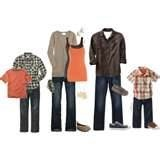 Fall Family Pictures - Outfit Choices