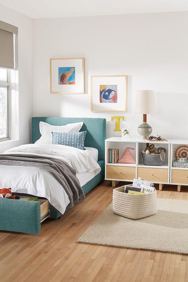 Room Board Wyatt Storage Bed Modern Kids Furniture