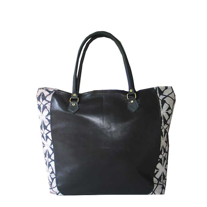 SQ Exclusive Tote bag March 2015 leather with a touch of SQ