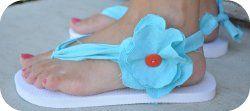 flip flops: Flipflops, The Knot, Craft, Idea, Flip Flops Diy, Key West, Fabric Flip Flops, Diy Flip, Hard Flip