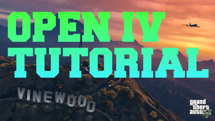 How to MOD GTA 5 PC using Open IV - All-In-One Tutorial