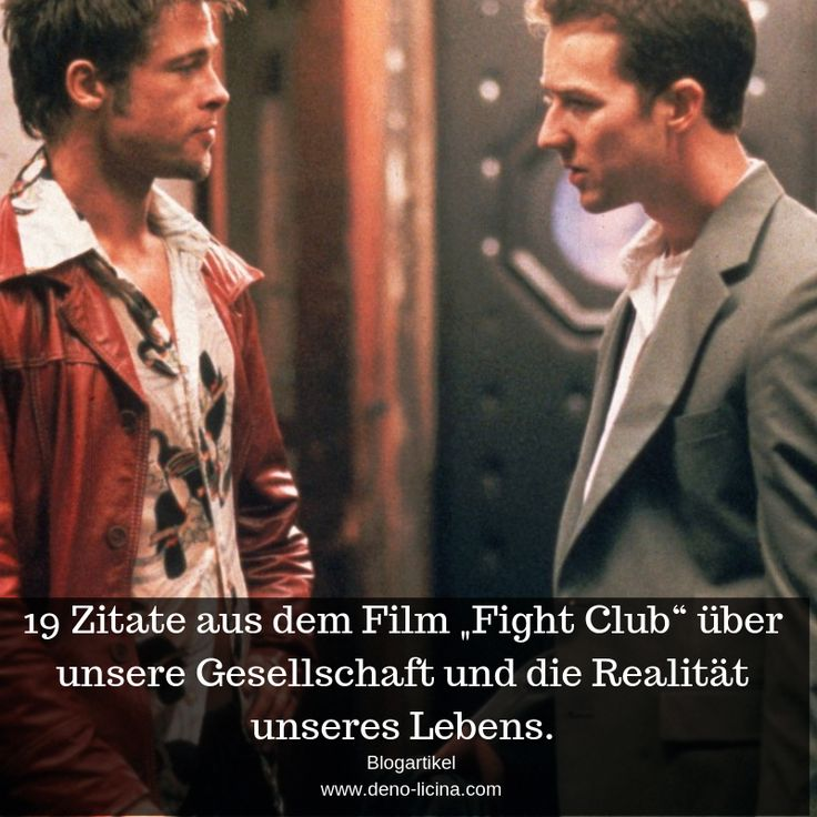 Fight Club Zitate