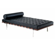 Barcelona Day Bed (1929) by Ludwieg Mies van der Rohe - manufacturer Knoll International