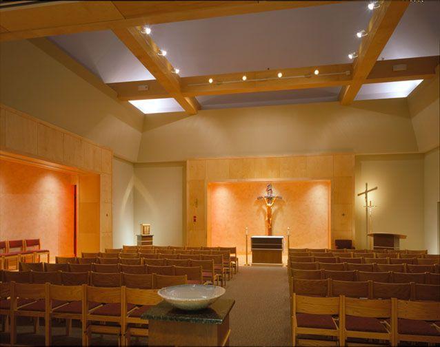 Chapel interior chapel design pinterest pope john paul ii pope john and john paul for Interior design hendersonville tn