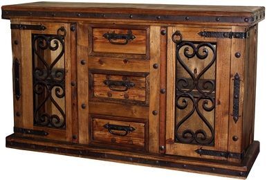 Large selection of Hacienda & Mexican style Rustic Furniture along with an incomparable selection of Mexican Folk Art
