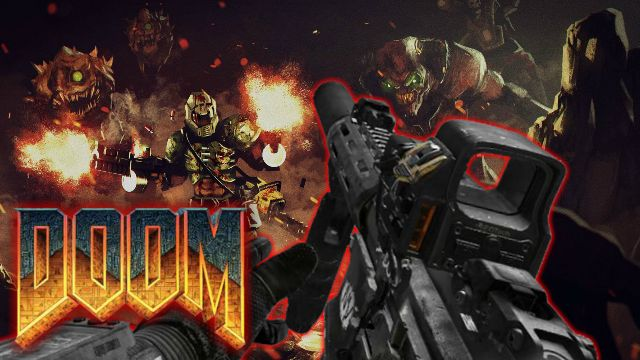 CALL OF DUTY in the DOOM (Trailer & Testing Video)