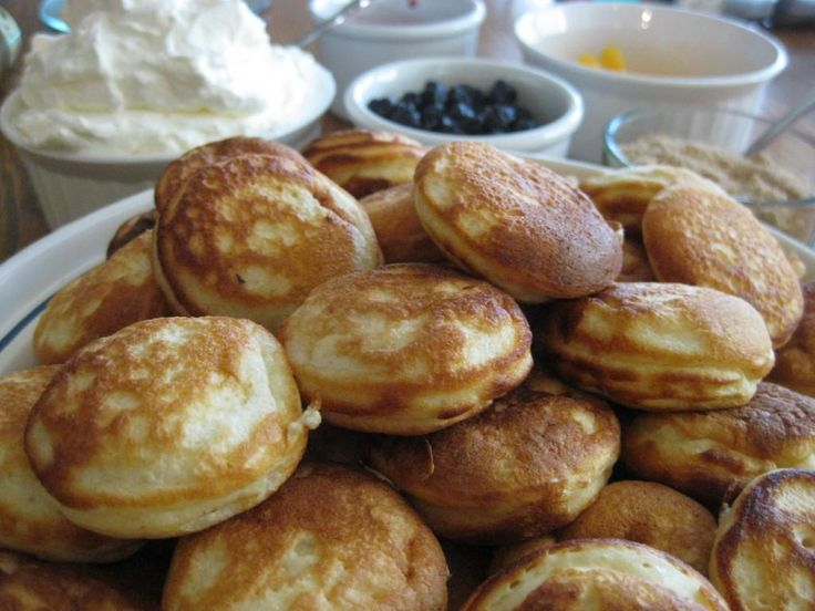 Aebleskivers, my grandpa Hansen was from Denmark, my grandma made these all the time! I miss them!