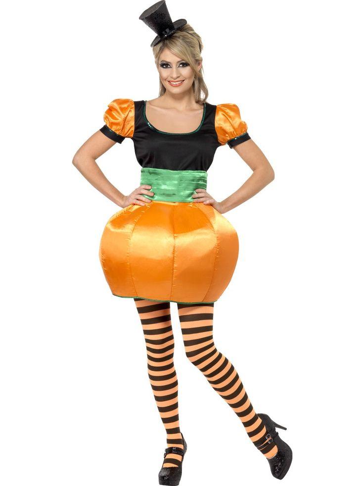 Women's Pumpkin Costume