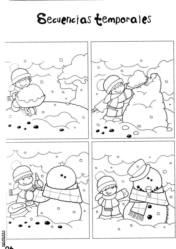 Foto: muñeco de nieve