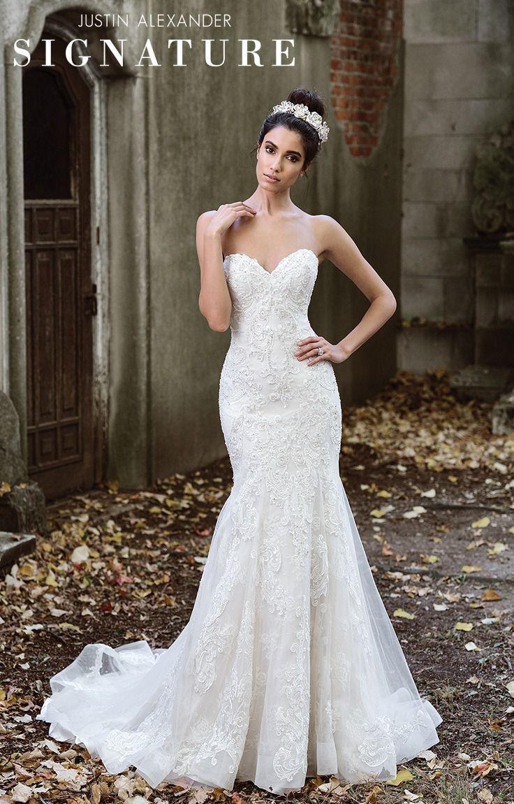 91 best Justin Alexander Bridal images on Pinterest | Wedding frocks ...
