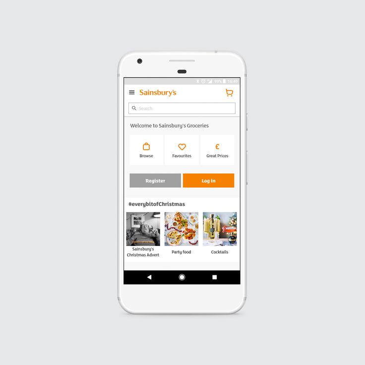 Sainsbury's grocery app refresh