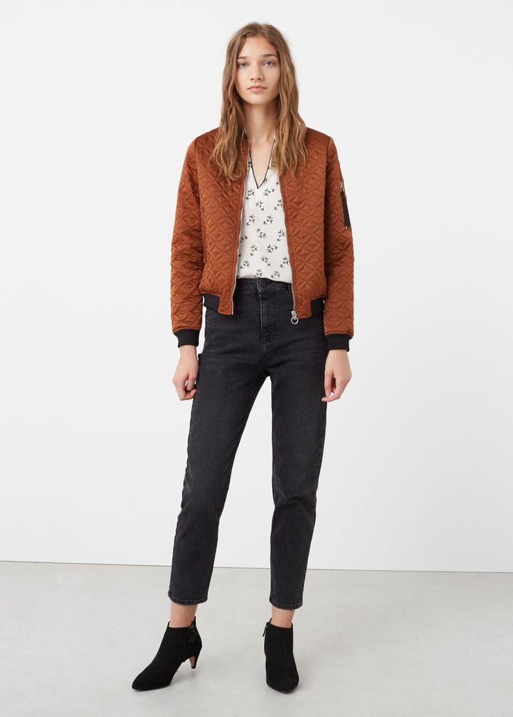 Струящаяся блузка с принтом - Рубашки - Женская | OUTLET Россия (Российская Федерация)