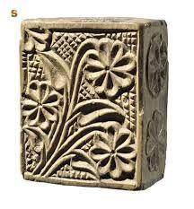 pintadera in legno per il pane Sardegna primi dell'ottocento.