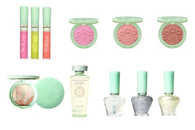 A little touch of fairy magic in this beautiful design cosmetic range