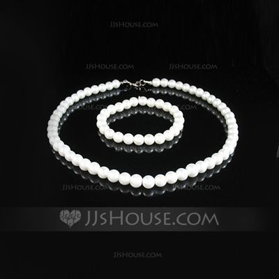 Jewelry - $5.99 - Elegant With Pearl Women's Jewelry Sets (011028979) http://jjshouse.com/Elegant-With-Pearl-Women-S-Jewelry-Sets-011028979-g28979